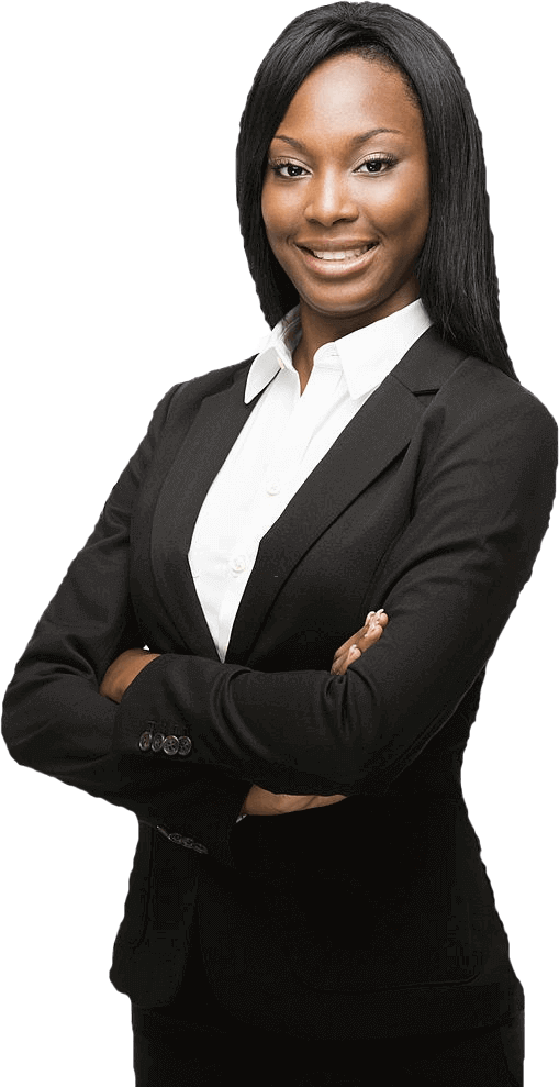 African Young business woman