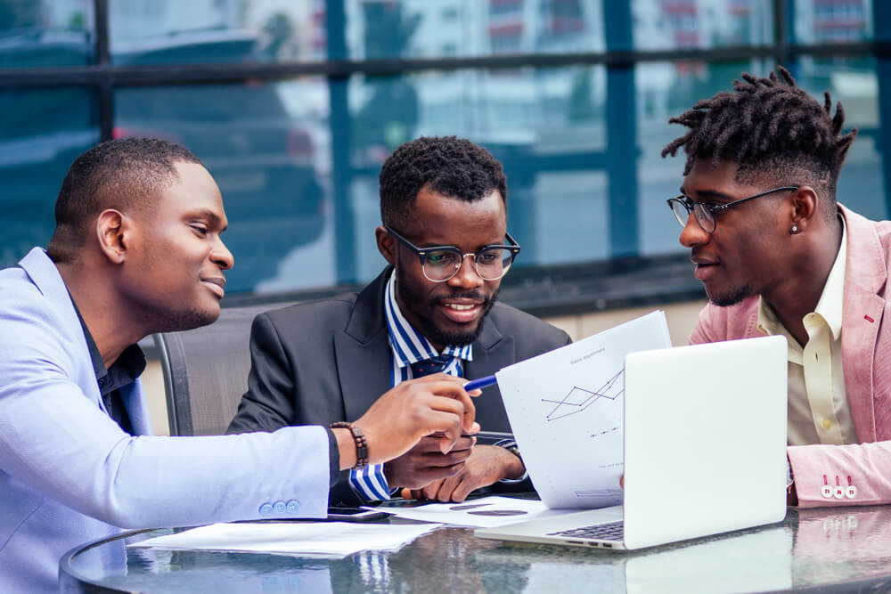 sertified Consult african american business meeting